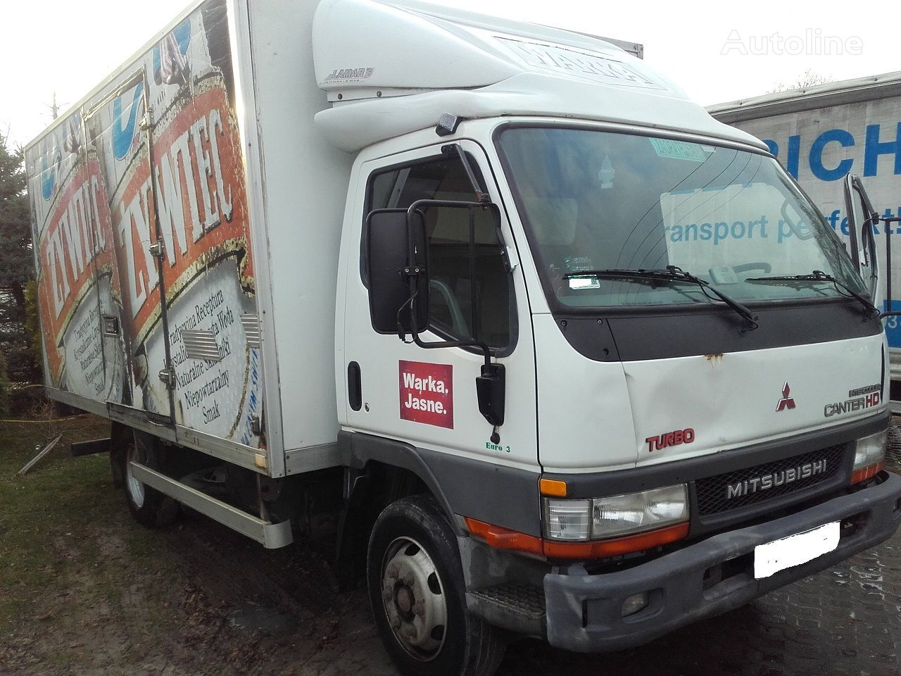 MITSUBISHI CANTER 3.9 HD closed box truck