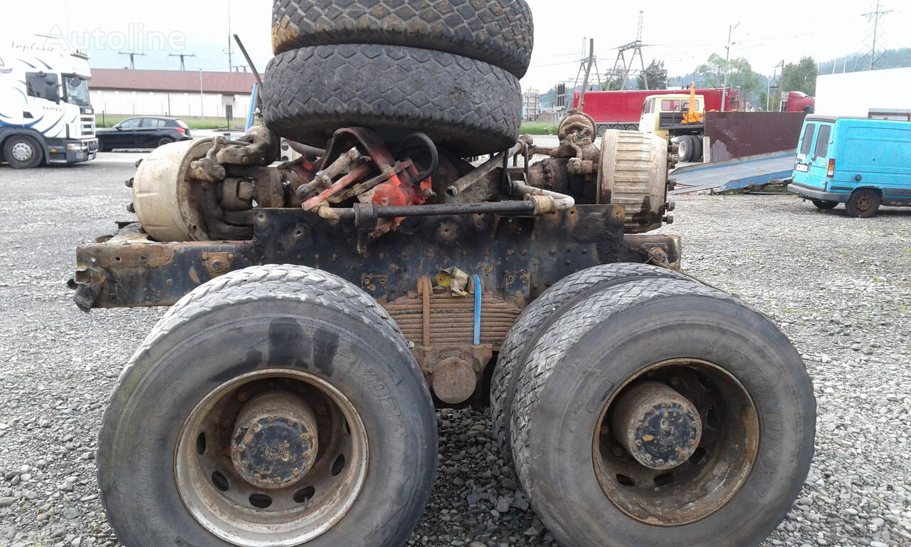 STEYR 1491 32S32 6x4 6x6 Truck in parts dump truck