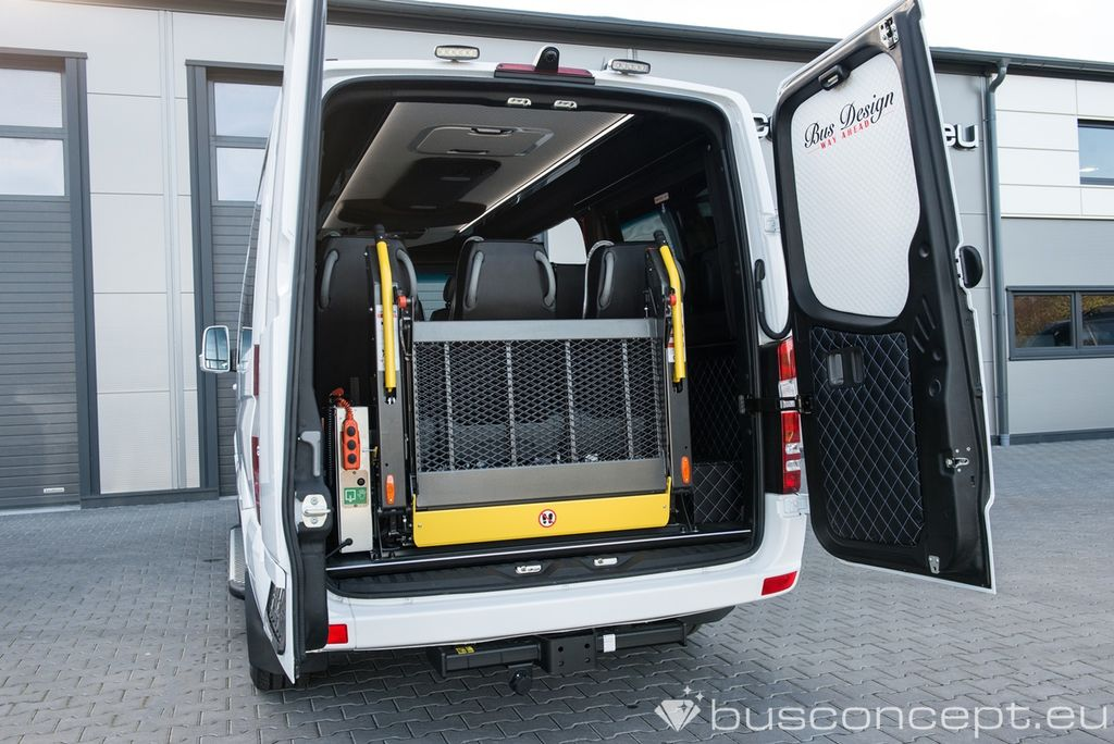 New MERCEDES-BENZ Sprinter 319 Taxi +Lift / Full Car CoC combi van ...