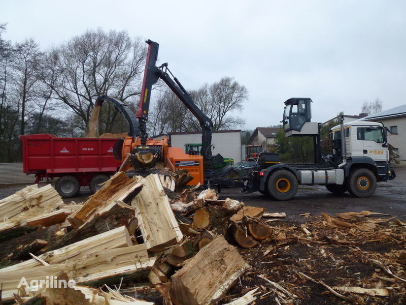 MAN Multifunctionstrac MFT wood chippers for sale, wood ...